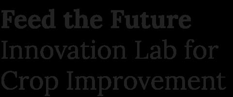 Innovation Lab for Crop Improvement
